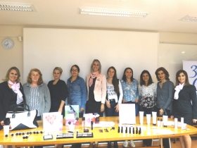 Workshop de Beleza, com a consultora Mary Kay, Bruna Lira.